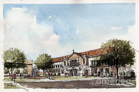 TTUHSC Odessa Sketch by Tim Oliver