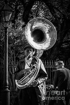 Kathleen K Parker - Tuba Player in French Quarter NOLA