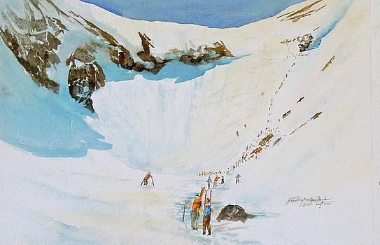 Tuckermans Ravine II by Harding Bush