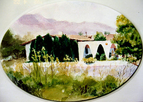 Tucson Hacienda by Bill Meeker