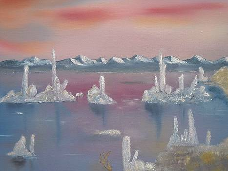Tufa Sunset by David  Barnes