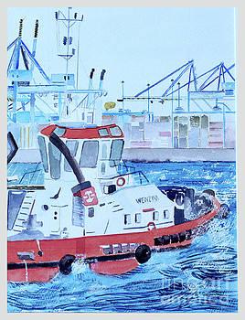 Tug Boat by Godwin Cassar