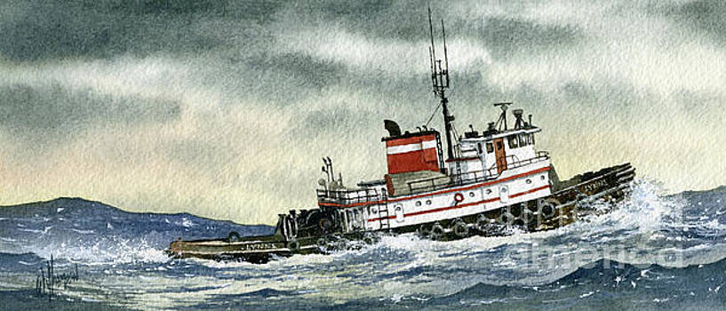 Tugboat LYNNE by James Williamson