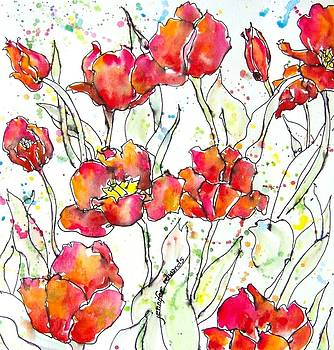 Tulip Dance by Jennifer Edwards