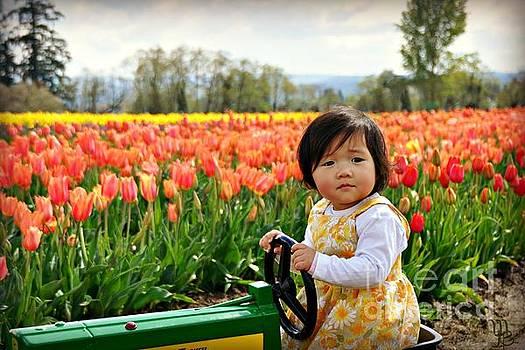 Tulip Princess  by Mindy Bench