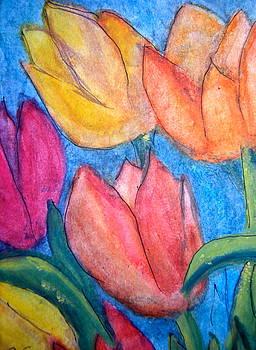 Tulips by Carol Warner