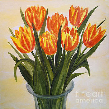Tulips in Spring by Christine Huwer