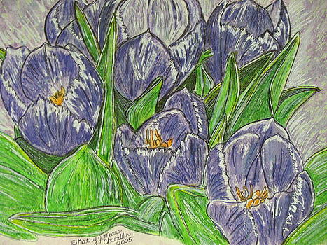 Tulips in the Spring by Kathy Marrs Chandler