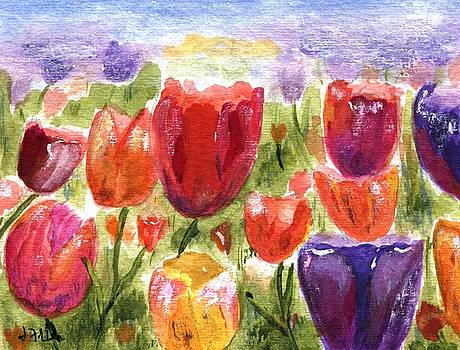 Tulips by Jamie Frier