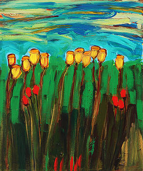 Tulips by Maggis Art