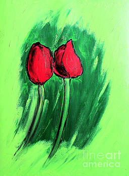 Tulips by Shachi Srivastava