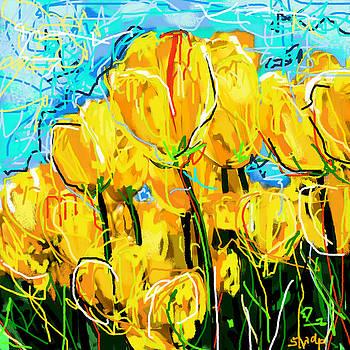 Tulips by Sladjana Lazarevic