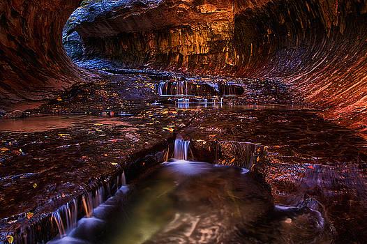 Tunnel of Pools by Dewey Farmer