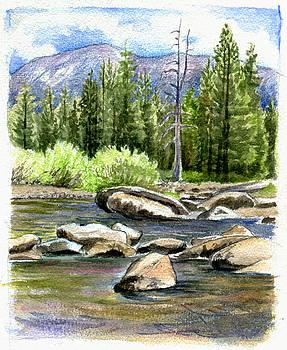 Tuolumne River with Mammoth Peak by Logan Parsons