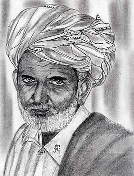 Turban man  by Bobby Dar