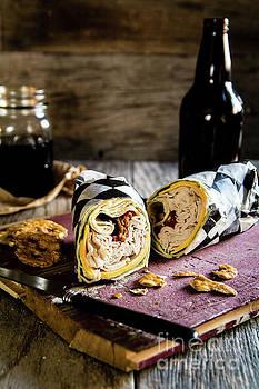 Turkey Bacon Wrap 2 by Deborah Klubertanz