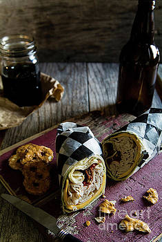 Turkey Bacon Wrap 3 by Deborah Klubertanz