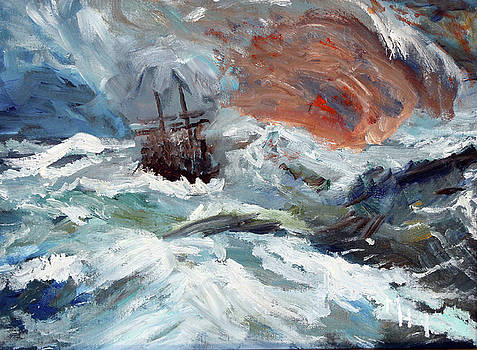 Turner Tribute by Michael Helfen