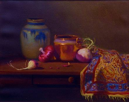 Turnips Copper and Red Onion by David Olander