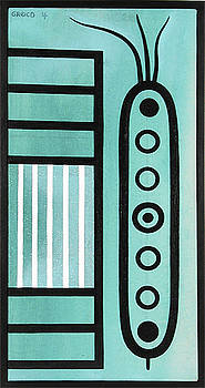 Turquoise composition by Paul Greco