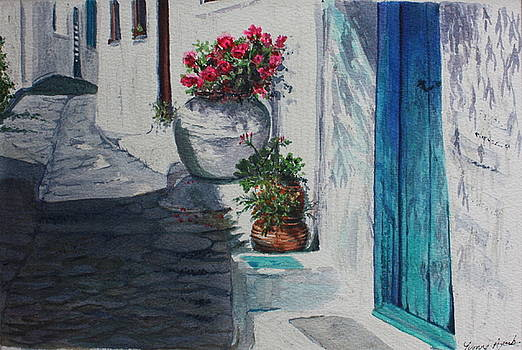 Yvonne Ayoub - Turquoise Door