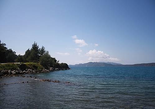 Tracey Harrington-Simpson - Turquoise Sea and Blue Skies of Hisaronu Bozburun