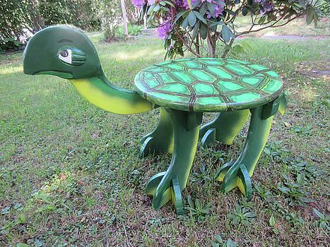 Turtle Bench by Gordon Wendling
