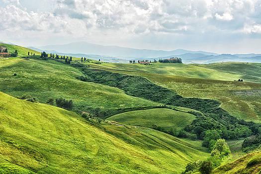 Tusacny Hills I by Claudia Moeckel