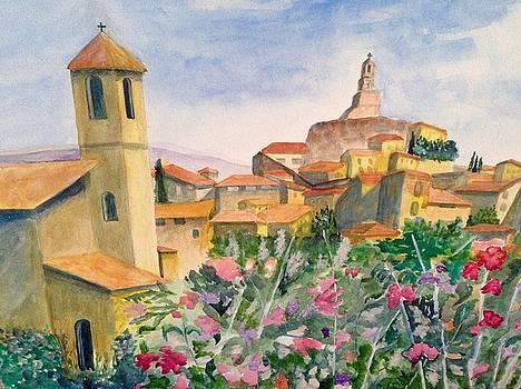 Tuscan Town by Heidi Patricio-Nadon