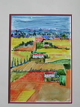 Tuscany in Summer by Harold Kimmel