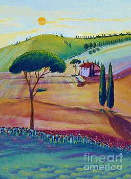 Tuscany is beautiful by Christine Huwer