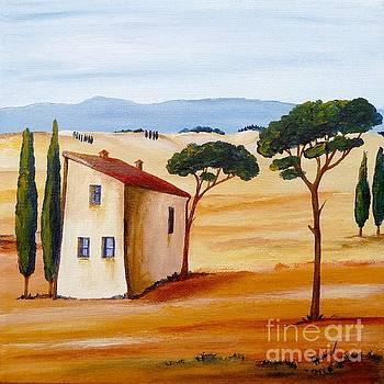 Tuscany Modern 2 by Christine Huwer