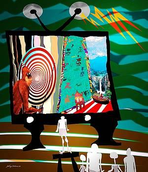 TV TIME  first study by Johny Deluna