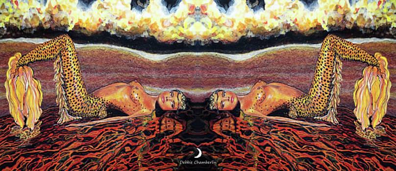 Twice is Nice Mermaids by Debbie Chamberlin
