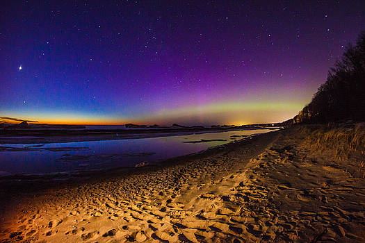 Twilight Auroras by Jackie Novak