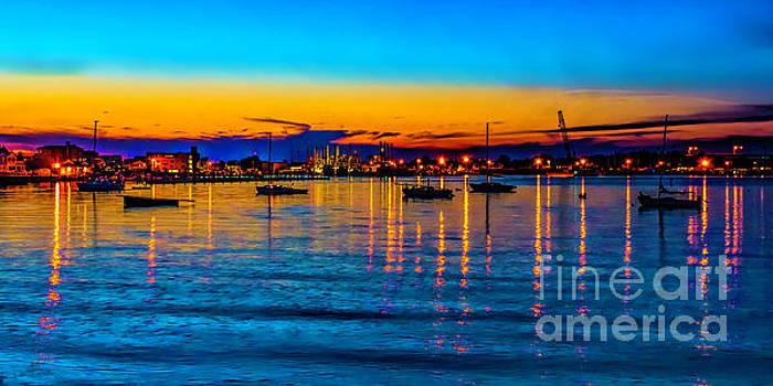 Nick Zelinsky - Twilight in Cape May Harbor