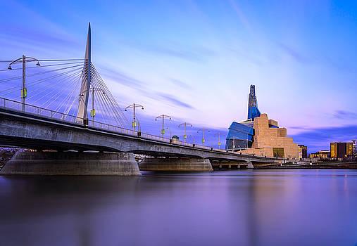 Twilight In Winnipeg by Nebojsa Novakovic
