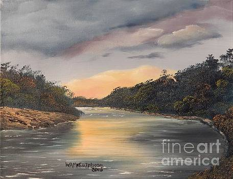 Twilight on the Suwanee River by William McCutcheon