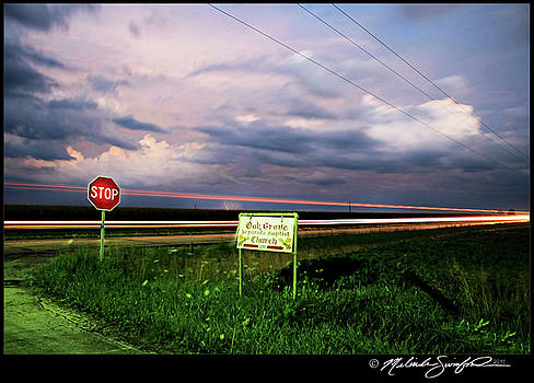 Twilight Ride into the Storm by Melinda Swinford