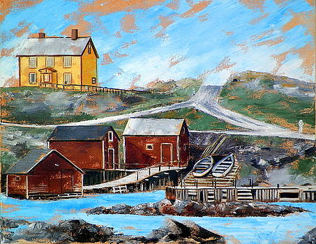Twillingate Newfoundland by RB McGrath
