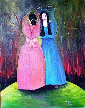 Two Angels For Pilar by Patricia Velasquez de Mera