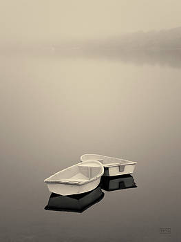 David Gordon - Two Boats and Fog Toned