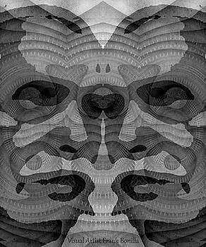 Two-Faced BW Version by Visual Artist  Frank Bonilla
