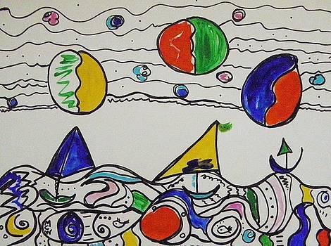 Two Fish Three Sail by Mary Carol Williams