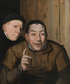 Flemish School - Two Jesters