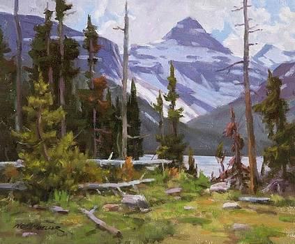 Two Medicine Glacier Park by Ned Mueller