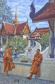 Two Monks  Now What by Robert Herlitz