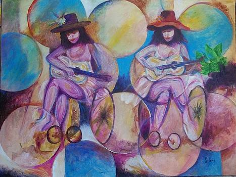 Two Musicians by Pedro Seleme