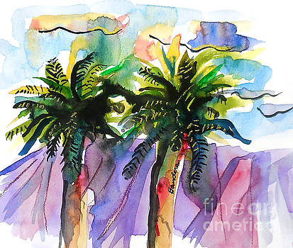 Two Palms by Terry Banderas