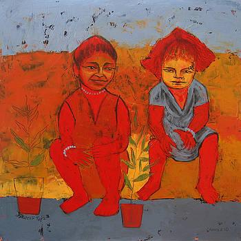 Two sisters by Aliza Souleyeva-Alexander